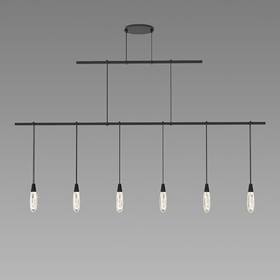 Suspenders� 6-Light Kitchen Island Pendant