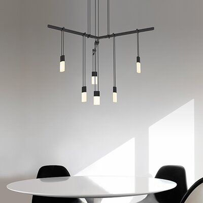 Suspenders� 6-Light Cluster Pendant