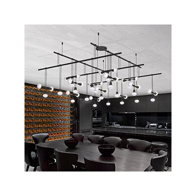 Suspenders� 45-Light Cascade Pendant
