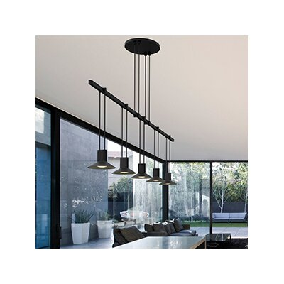 Suspenders� 5-Light Kitchen Island Pendant