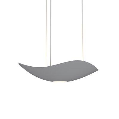 Roberta 1-Light LED Mini Pendant Finish: Dove Gray