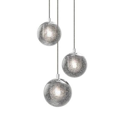 Mata 3-Light LED Cascade Pendant