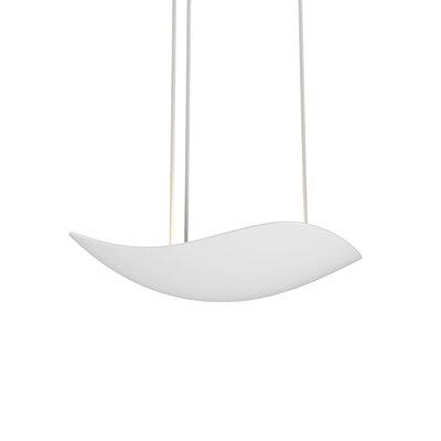 Roberta 1-Light LED Mini Pendant Finish: Satin White