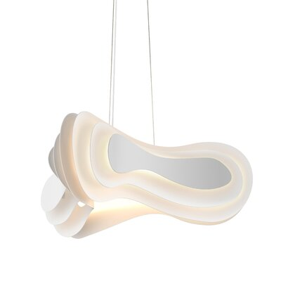 Cowman 1-Light LED Geometric Pendant