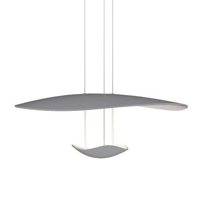 Holden 1-Light LED Geometric Pendant Finish: Dove Gray