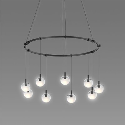 Kaleigh 9-Light LED Design Pendant