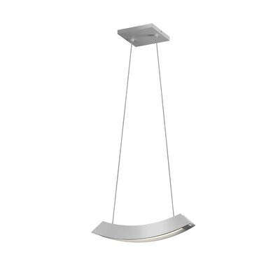 Kabu Mini Pendant Finish: Bright Satin Aluminum
