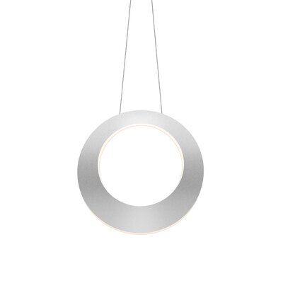Haro Mini Pendant Finish: Bright Satin Aluminum