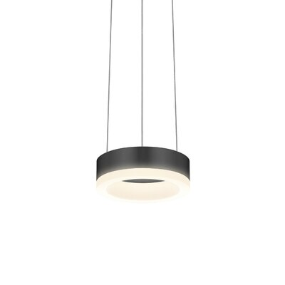 Corona 1-Light Pendant Finish: Satin Black