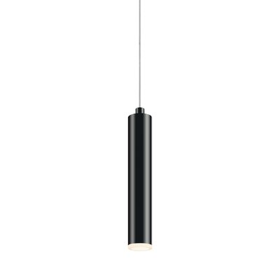 Micro Cone 1-Light Mini Pendant Finish: Satin Black