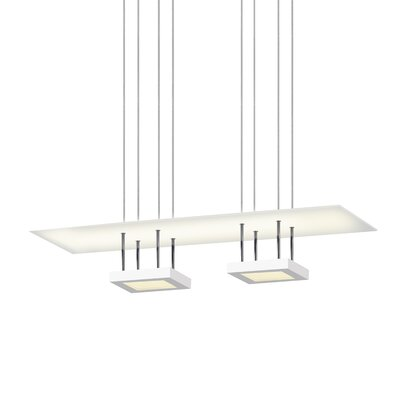 Chromaglo 2-Light Kitchen Island Pendant