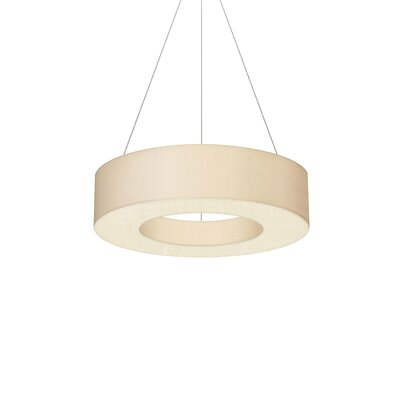 1-Light Drum Pendant Size: 5 H x 22 W