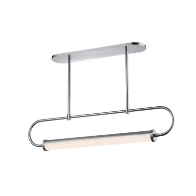 Bauhaus Revisited Kitchen Island Pendant Finish: Satin Chrome