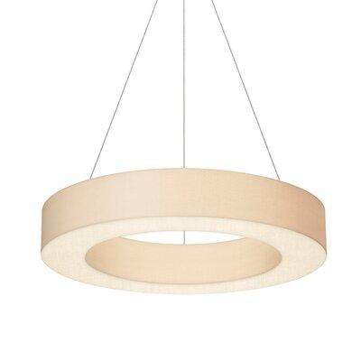 1-Light Drum Pendant Size: 5 H x 32 W