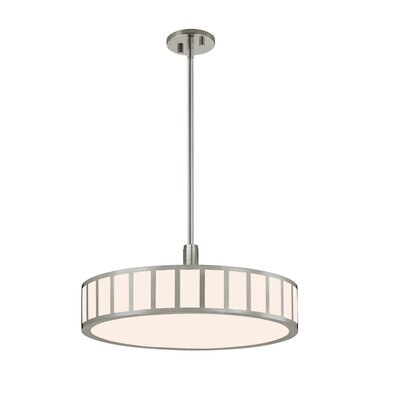 Capital Drum Pendant Finish: Satin Nickel