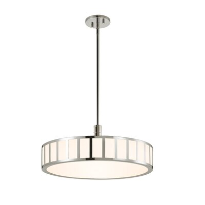 Capital Drum Pendant Finish: Polished Nickel