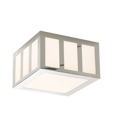 Capital 1-Light Flush Mount Finish: Polished Nickel