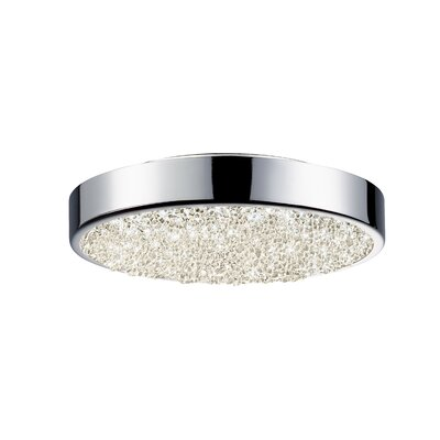 Dazzle 1-Light Drum Pendant Size: 1.75 H x 8 W