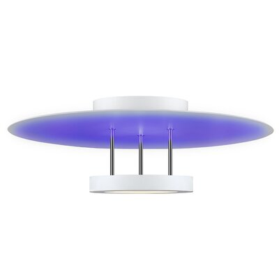 Chromaglo� Spectrum Semi-Flush Mount