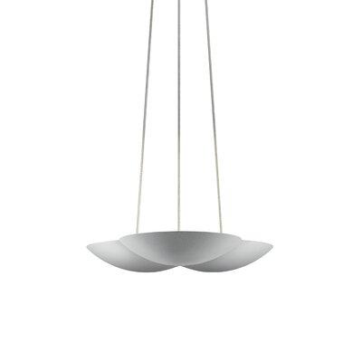 Little Cloud� Inverted Pendant Finish: Bright Satin Aluminum