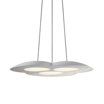 Big Cloud� Inverted Pendant Finish: Bright Satin Aluminum