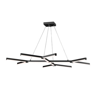 Geometric Pendant Finish: Satin Black
