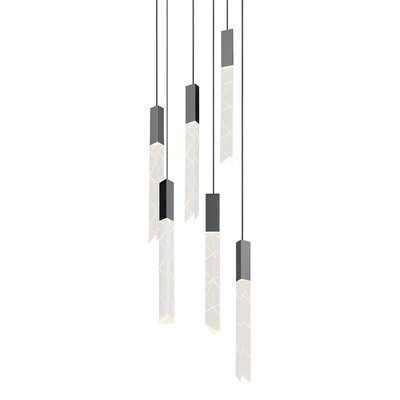 Trinity 6-Light Cascade Pendant