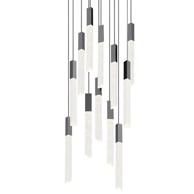 Trinity 12-Light Cascade Pendant