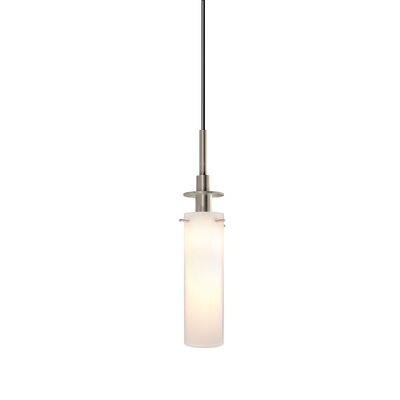 Candle 1-Light Pendant Finish: Satin Nickel