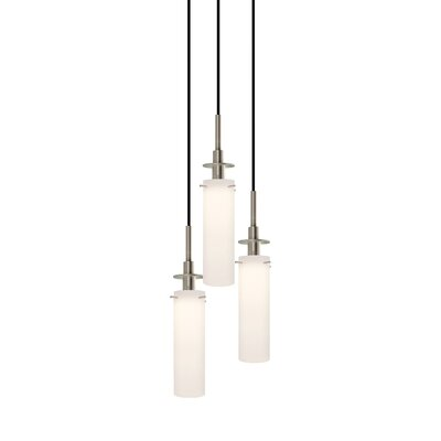 Candle 3-Light Pendant Finish: Satin Nickel