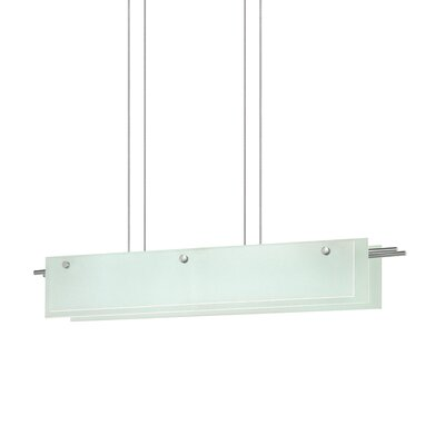 Suspended Glass Kitchen Island Pendant