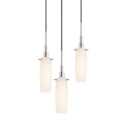 Candela 3-Light Tulip Pendant Finish: Polished Chrome