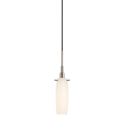 Candela 1-Light Tulip Pendant Finish: Satin Nickel