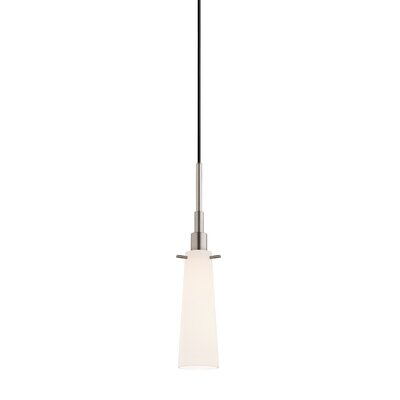 Candela 1-Light Tapered Pendant Finish: Satin Nickel