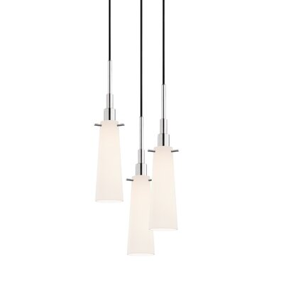 Candela 3-Light Torpedo Pendant Finish: Polished Chrome