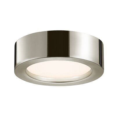 Puck Slim Flush Mount Finish: Polished Nickel