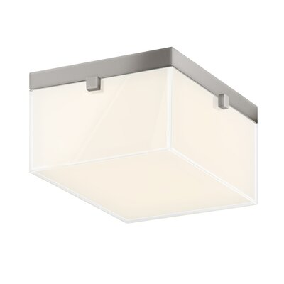 Parallel Flush Mount Finish: Satin Nickel
