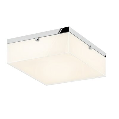 Parallel Flush Mount Fixture Finish: Polished Chrome
