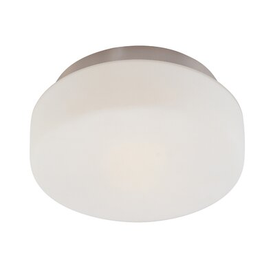 Pan 2-Light Flush Mount Finish: Satin Nickel