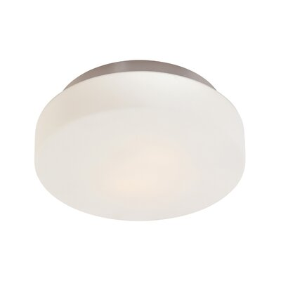 Pan 3-Light Flush Mount Finish: Satin Nickel