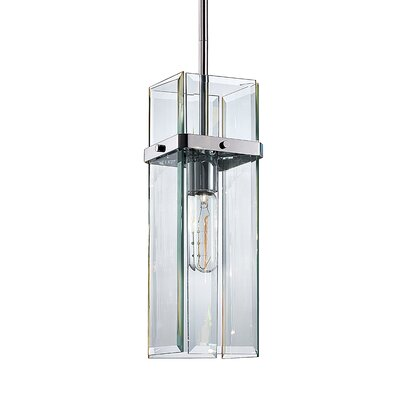 Mercer 1-Light Street Pendant Finish: Polished Chrome