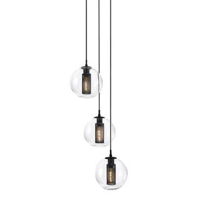 Tribeca 3-Light Pendant Size: 10