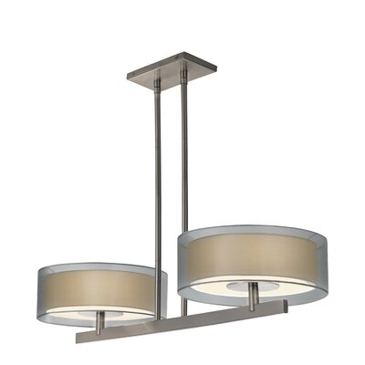 Puri Light Bar Pendant Finish: Satin Nickel
