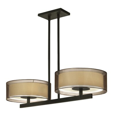 Puri Light Bar Pendant Finish: Black Brass
