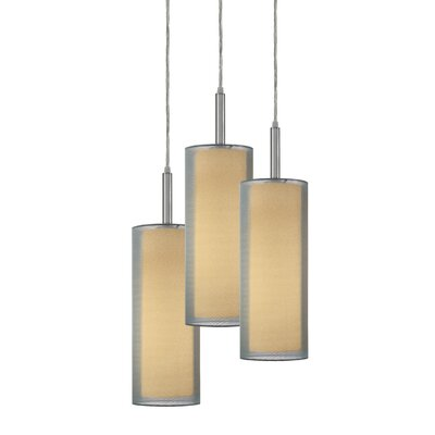 Puri 3-Light Pendant Finish: Satin Nickel