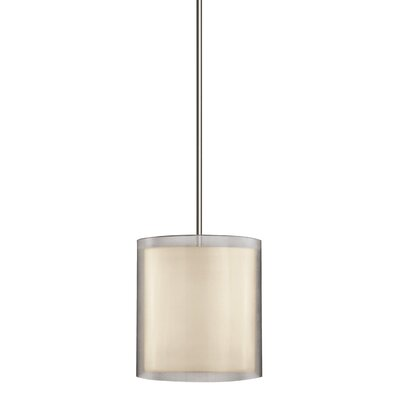 Puri 3-Light Drum Pendant Finish: Satin Nickel