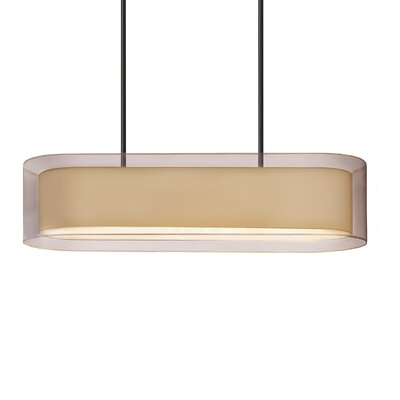 Puri 4-Light Pendant Finish: Black Brass