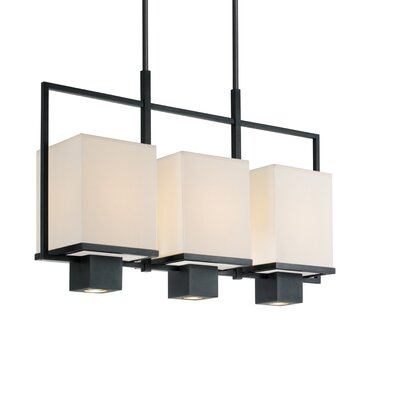 Metro 3-Light Schoolhouse Pendant