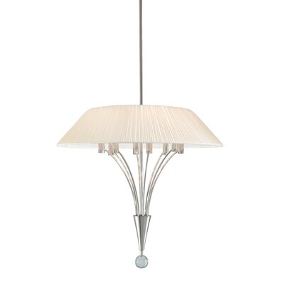 Fontana 8-Light Inverted Pendant Finish: Polished Nickel