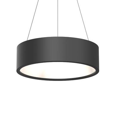 Tromme 1-Light LED Drum Pendant Shade Color: Satin Black